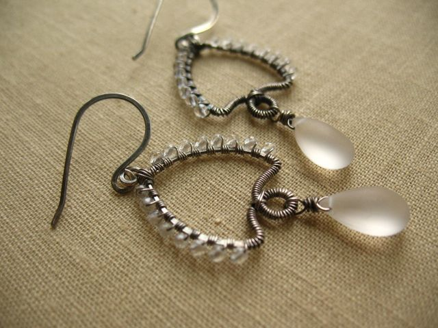 213 best WIRE JEWELRY images on Pinterest | Diy jewelry making ...