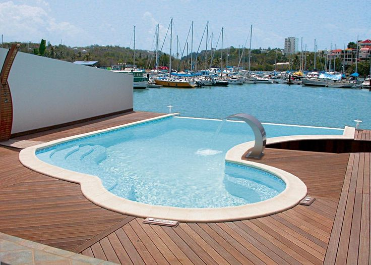 15 melhores imagens de piscinas no pinterest arquitetura for Piscine monocoque