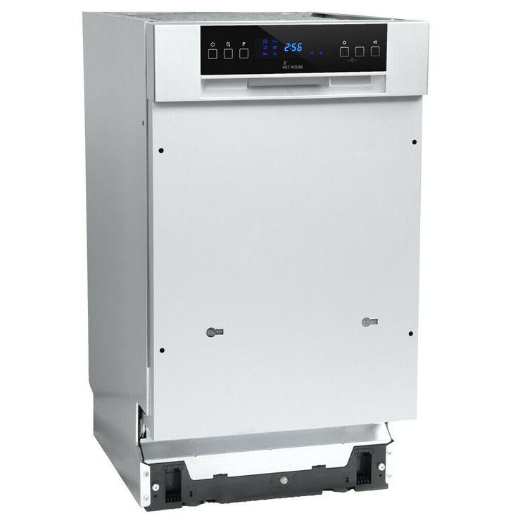 eBay #Sponsored Geschirrspüler Einbau Spülmaschine teilintegriert 45cm 6 Progr…  # Geschirrspüler. Haushaltsgeräte