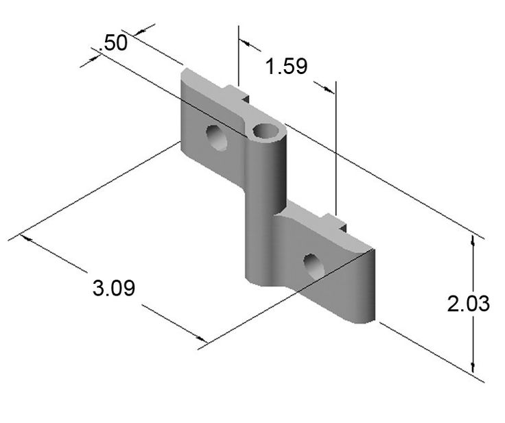 Aluminum Right Lift Off Hinge Products