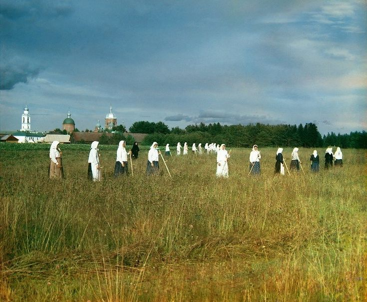Color Photos Of Tsarist Russians from 130 years ago