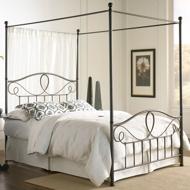 17 best ideas about iron canopy bed on pinterest canopy bedroom canopy beds and modern canopy bed