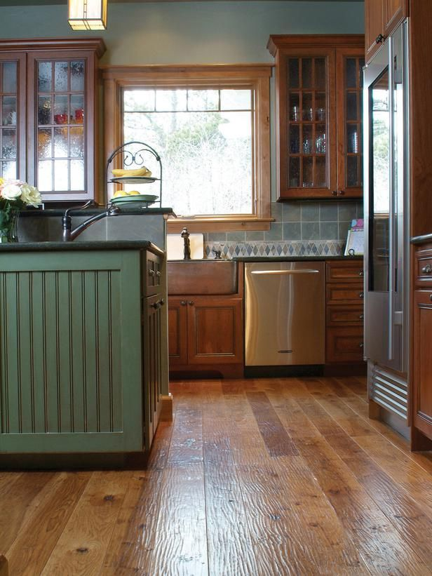17 Best images about Flooring – Wood Floors in the Kitchen