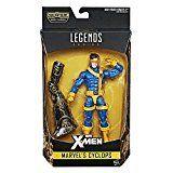 #4: Cyclops 6 inch Action Figure Marvel Legends Series collectible Build a figure warlock Hasbro x-men collectible figure scott summers