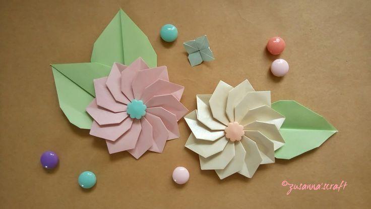 Dahlia Designed by Hajime Komiya Folded by Zusanna's Craft