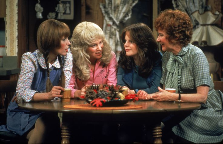 The women of Mary Hartman, Mary Hartman, played by Louise Lasser, Mary Kay Place, Debralee Scott, and Dody Goodman.