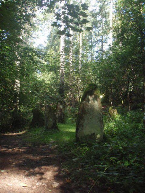 Dolmen in Ravensdale, Dundalk, Ireland