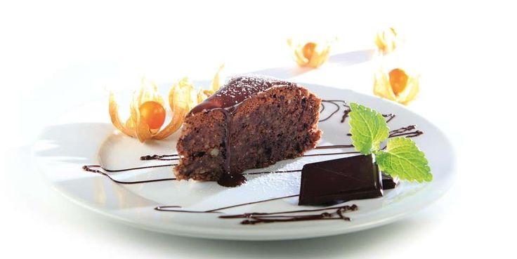 Fyldig sjokoladekake