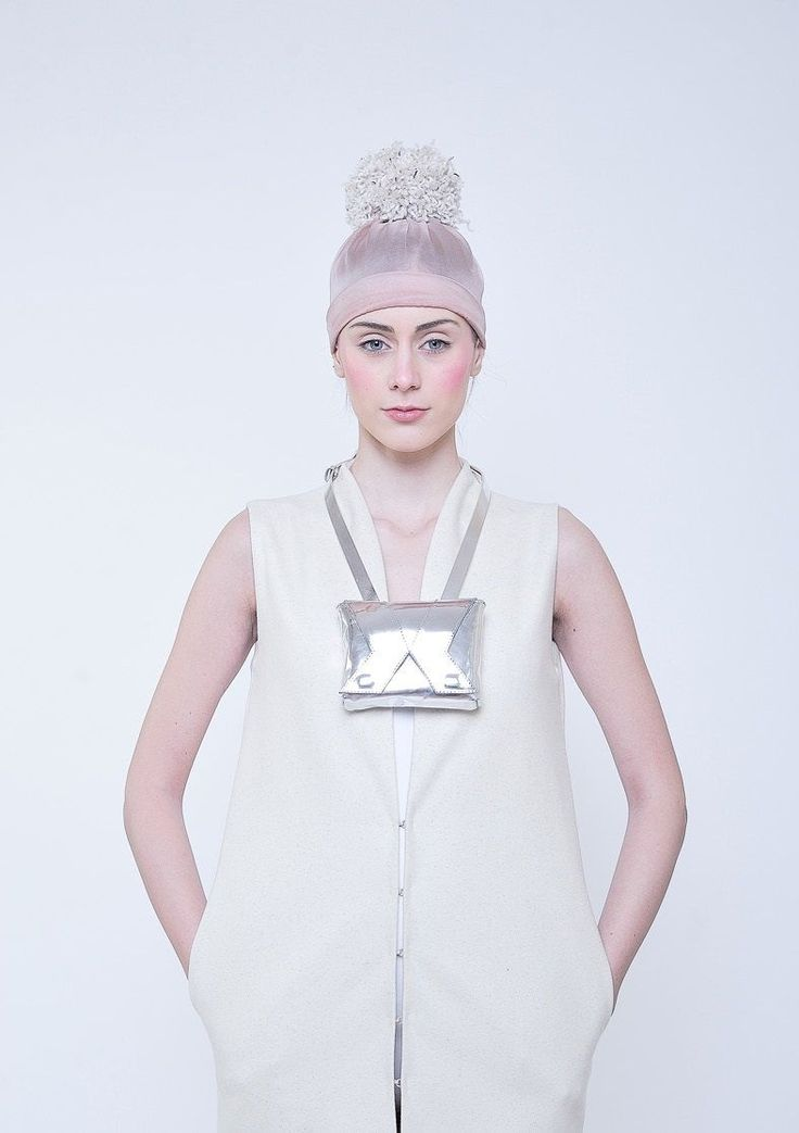 1.VISIBLE, Inner Universe 3 Silver Bag made by Alexandra Abraham.