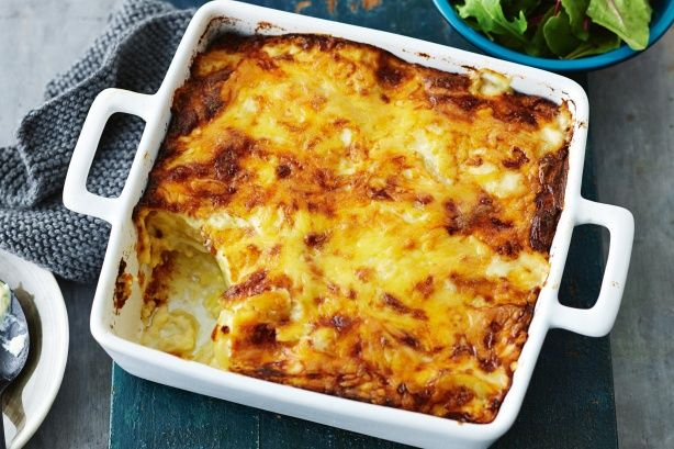 The cheesy sauce on this potato bake has impressed many a Taste.com.au member. Try it tonight and tell us what you think!