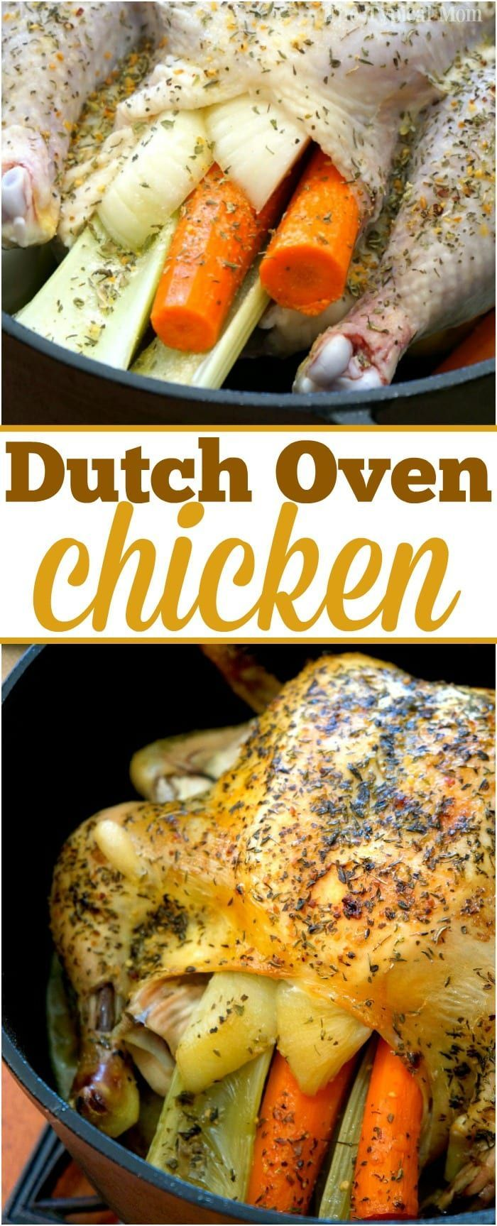 Dutch Oven Whole Chicken Is Amazing Super Easy And Flavorful Using This Method Tender Oven