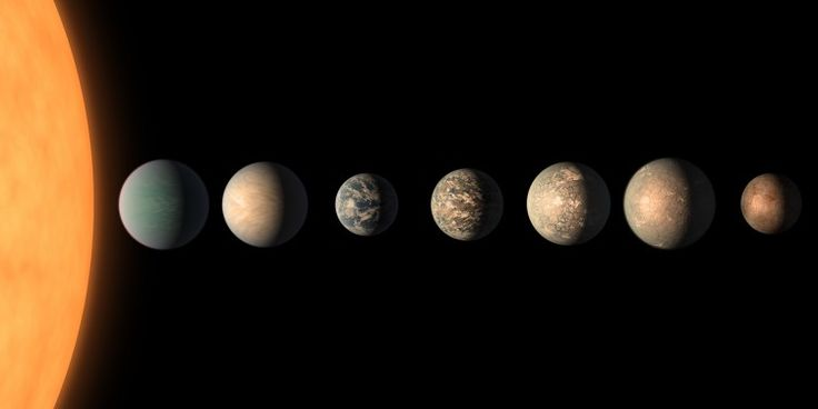 Watery worlds: UW astronomer Eric Agol assists in new findings of TRAPPIST-1 planetary system