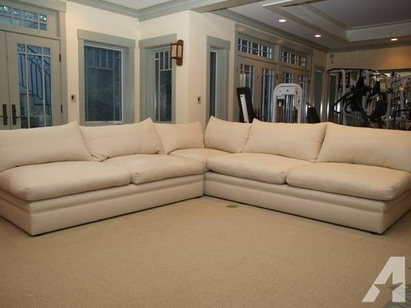 ▻▻Deluxe Kreiss Sectional L Shaped Sofa   For Sale In Portola Valley,