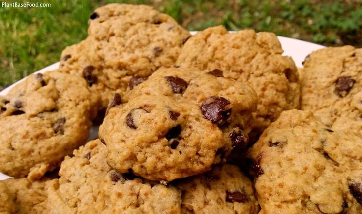 PERFECT Vegan Chocolate Chip Cookie Recipe