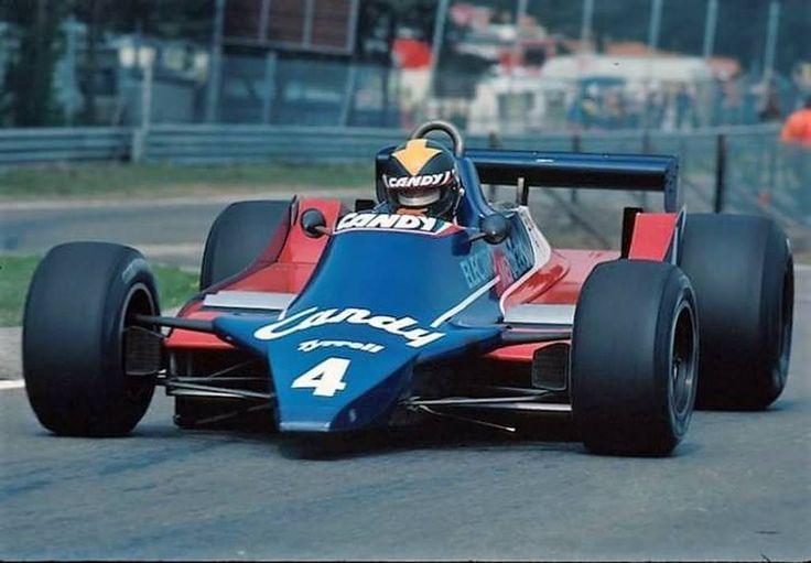 Derek Daly (Tyrrell-Ford) Grand Prix de Belgique - Zolder 1980 - F1 History & Legends.
