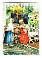 Невероятно позитивные бабушки от финской художницы Inge Look