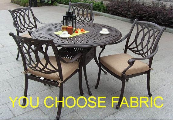 Indoor or Outdoor Custom Chair Cushion Covers Seat Cushions YOU CHOOSE FABRIC Dining Chair Cushions