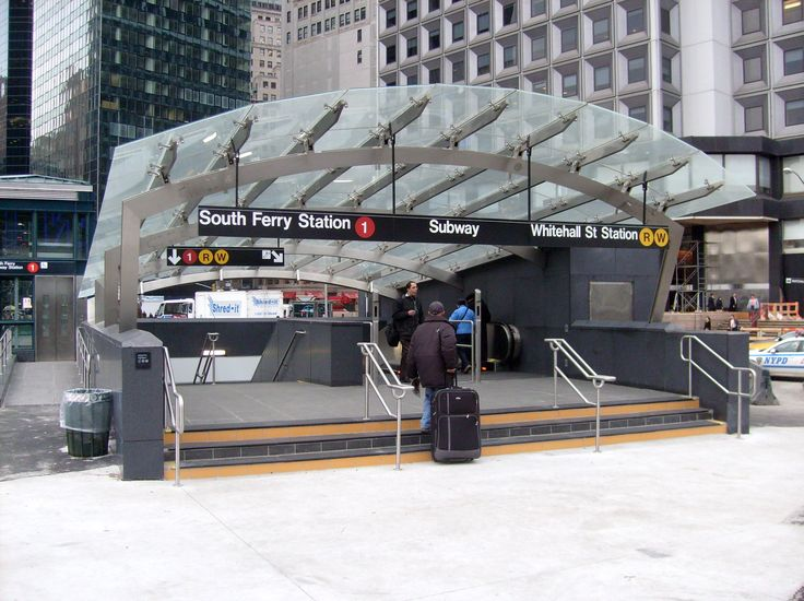 South Ferry - Whitehall Street station entrance