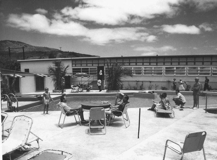 Flamboyant Hotel, St. Thomas, US Virgin Islands ~ 1950s