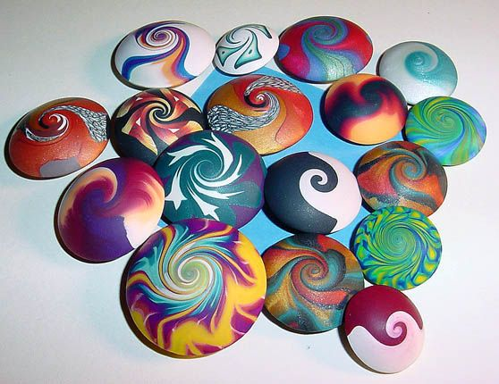 Obsession with Curls and Swirls | The Daily Polymer Arts Blog