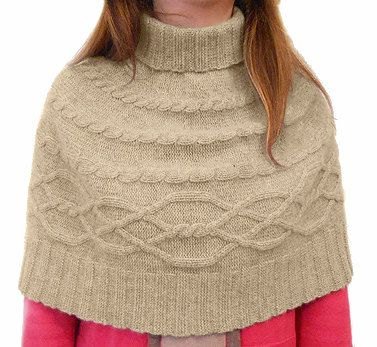 Fine Pure CASHMERE Knitted Turtleneck CAPELET SHRUGS Shoulder Warmer, Plait pattern Dove Grey natural  color, made in Italy, Free Shipping