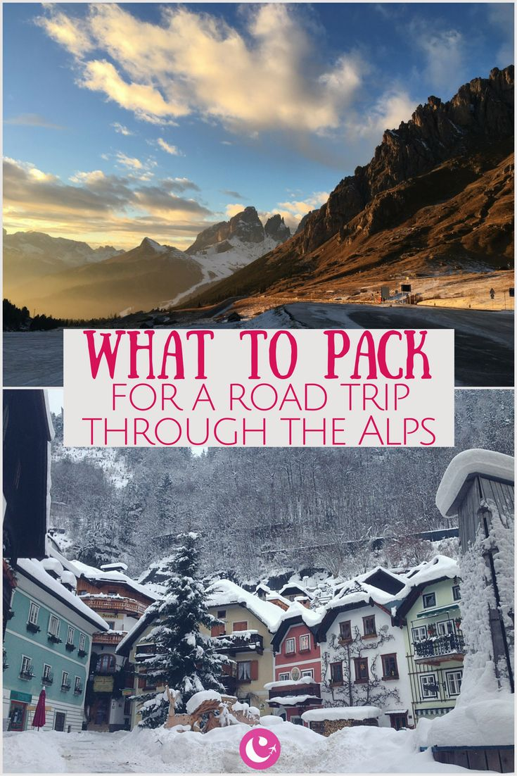 What to Pack for a Road Trip In the Alps | Women's Travel Tips | Packing Guide