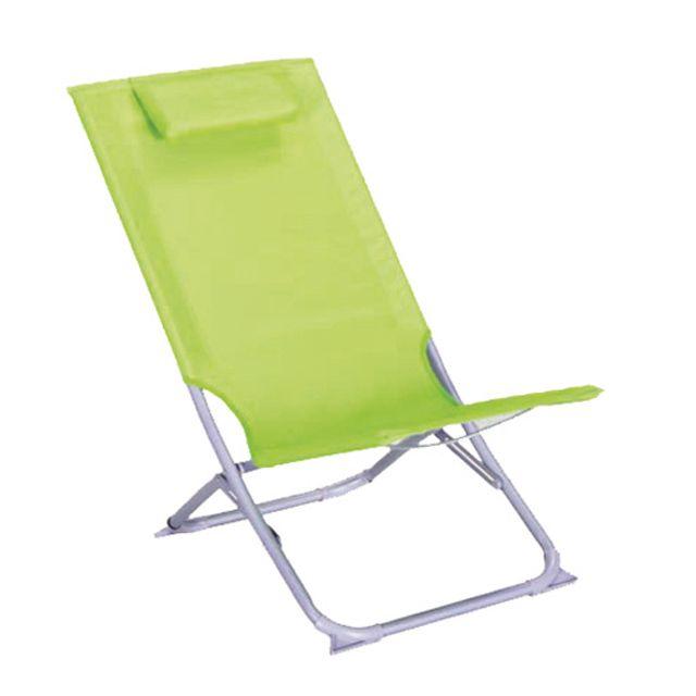 Chaise Pliante Curacao Vert Castorama Chaise Pliante Fauteuil Jardin Chaise