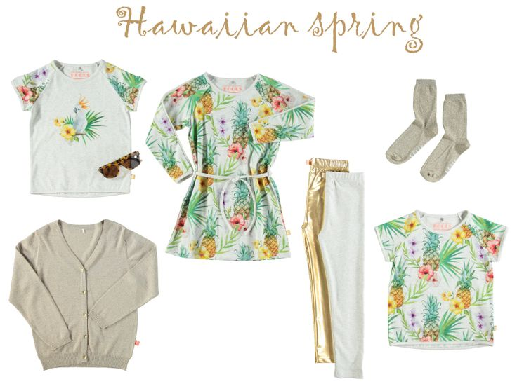 Botanical Influences - season TREND is really getting big around the globe. More plants are moving into our homes and the botanical prints are very important in fashion right now. Enjoy our HAWAII print which is inspired by the big trend.