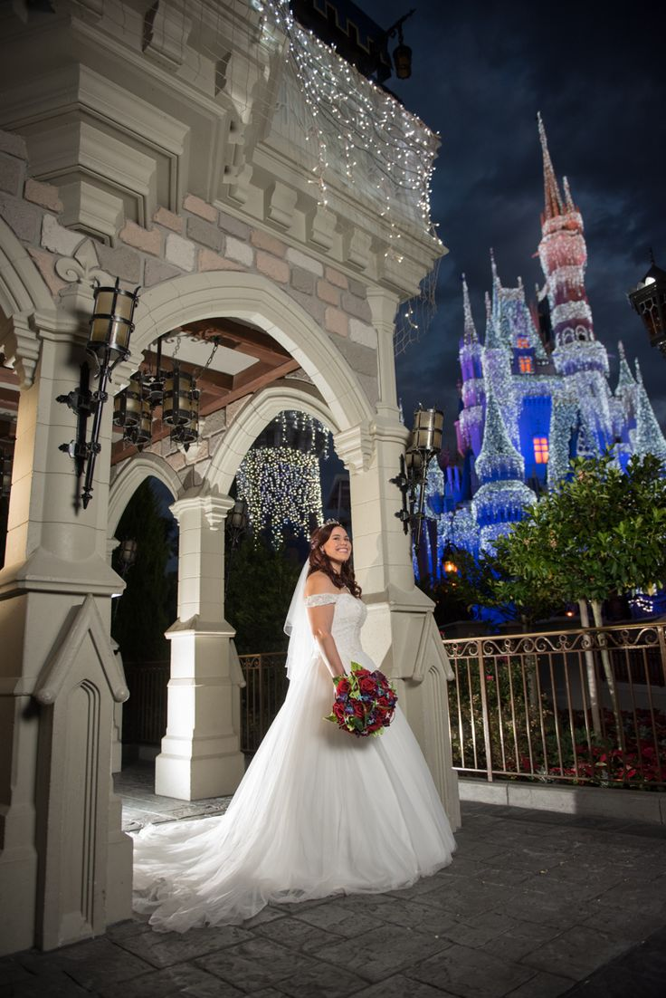 The holidays have arrived at Walt Disney World! It's the most wonderful time of the year. Photo: Stephanie, Disney Fine Art Photography
