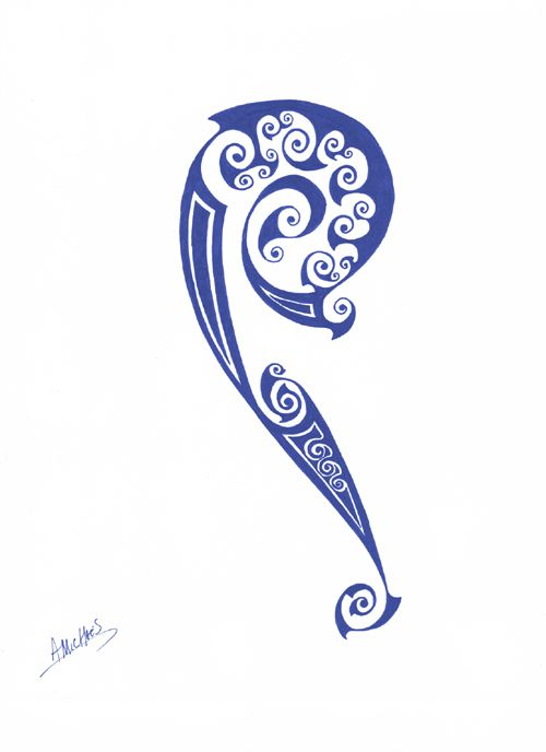 Celtic tribal tattoo design 2 by ~amichaels on deviantART
