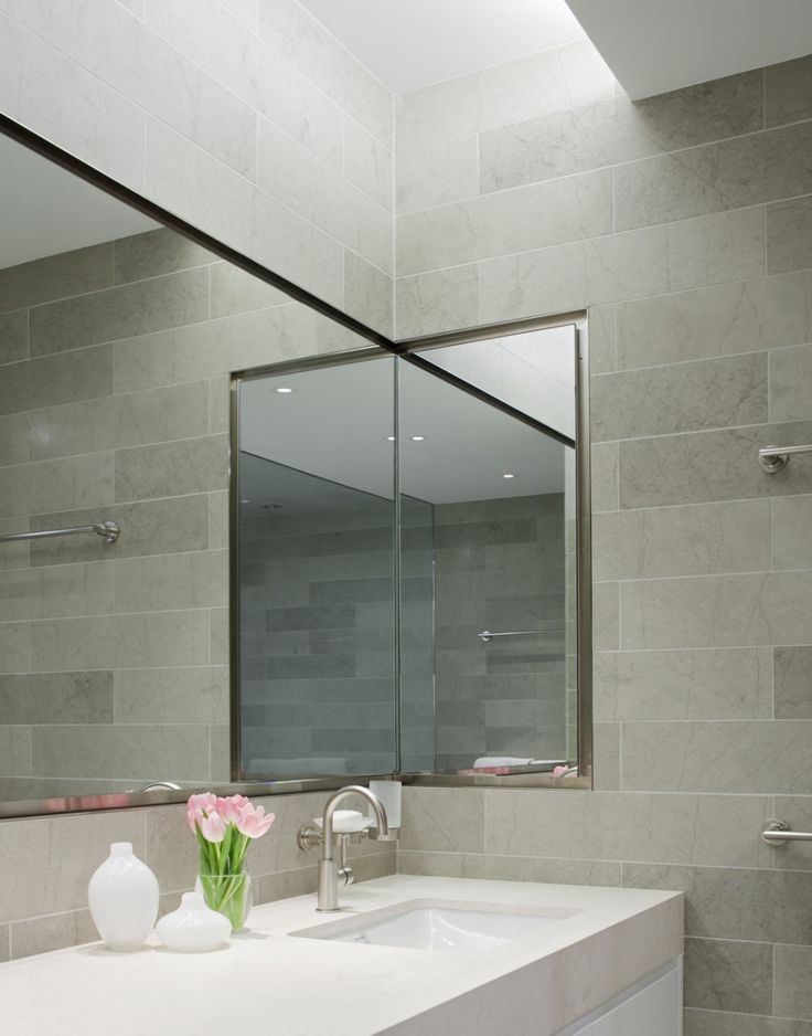 This Nyc Apartment 39 S Bathroom Skylight I Think Is A Nice Touch And I Love The White Sink