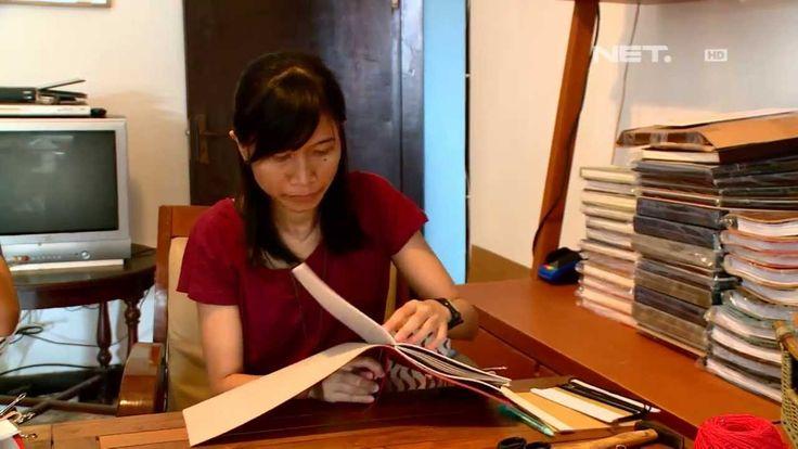 NET12 - Kreasi Unik Alat Tulis Buatan Tangan di Bandung