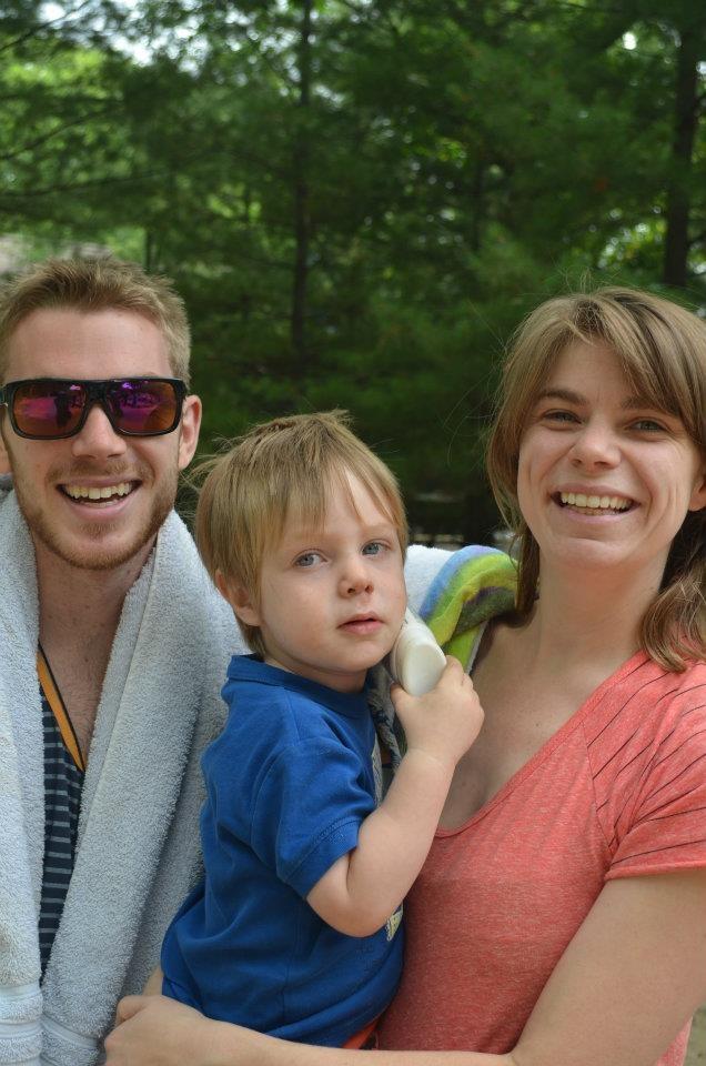 Family at Camp Kitchi