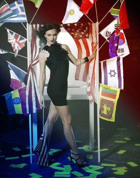 Elina Ivanova - TOP MODEL USA SHOOTING