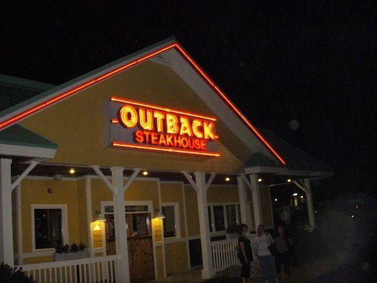 Outback Steakhouse Restaurant