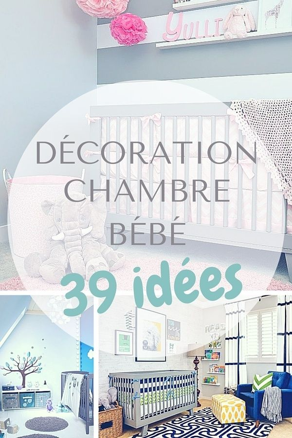 Les 25 meilleures id es de la cat gorie d coration chambre - Idee decoration chambre bebe garcon ...