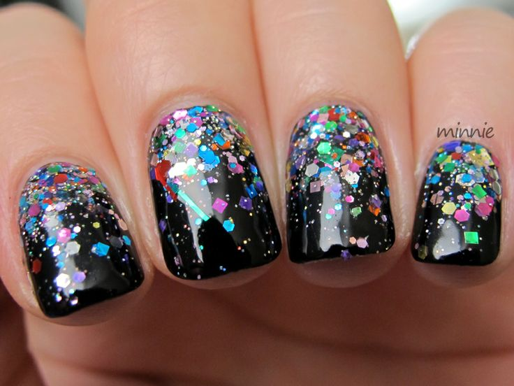 Polish or Perish: Birthday! Manicure :) Lynderella The Glittering Crowd