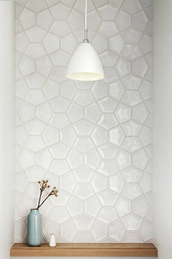 Las 25 mejores ideas sobre carrelage blanc brillant en for Carrelage blanc brillant