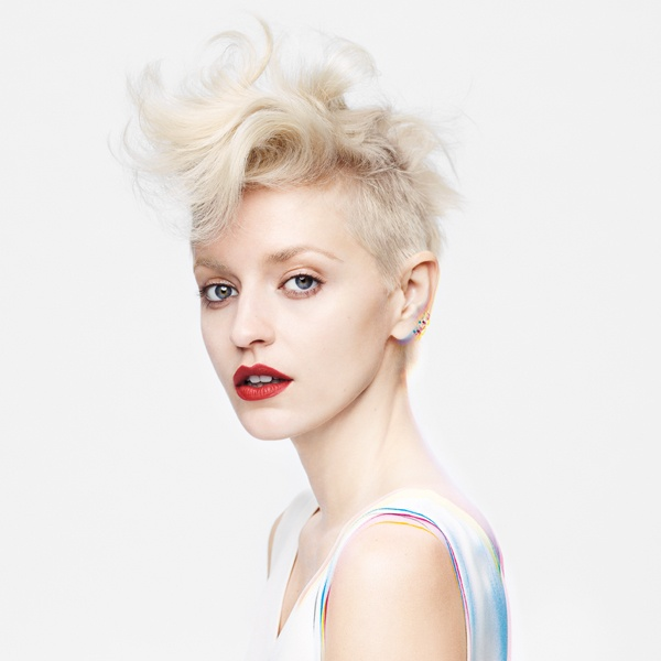 #BbColorMinded     Short, edgy and perfectly blonde by Bumble and bumble.