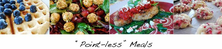 """Point-Less"" Meals ....A Blog with all Weight Watcher Recipes and great PHOTOS of all the recipes!"