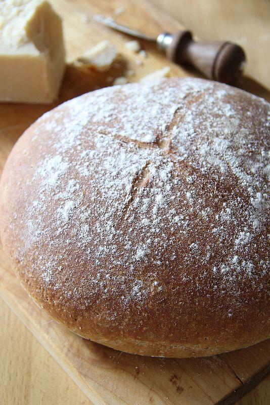 Ricetta del pane integrale, preparato con lievito madre essiccato