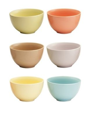 37% OFF Rosanna Set of 6 Assorted Bowls