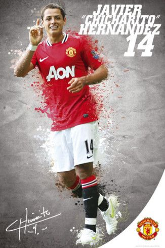 Manchester United-Hernandez 2011-2012 Posters from AllPosters.com
