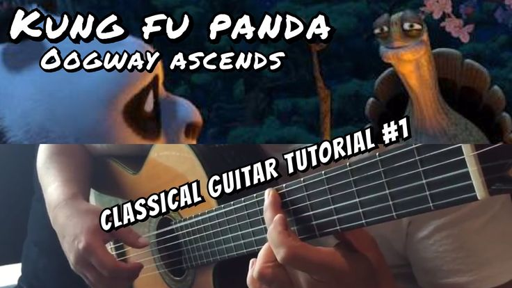 "Guitar Lesson ""Kung Fu Panda"" Oogway Ascends - Acoustic Guitar Tutorial ..."