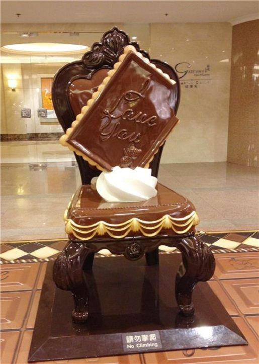 Chocolate-Inspired Furniture