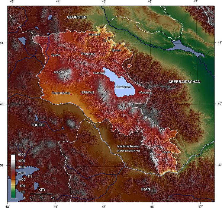 Armenien topo - Armenia - Wikipedia