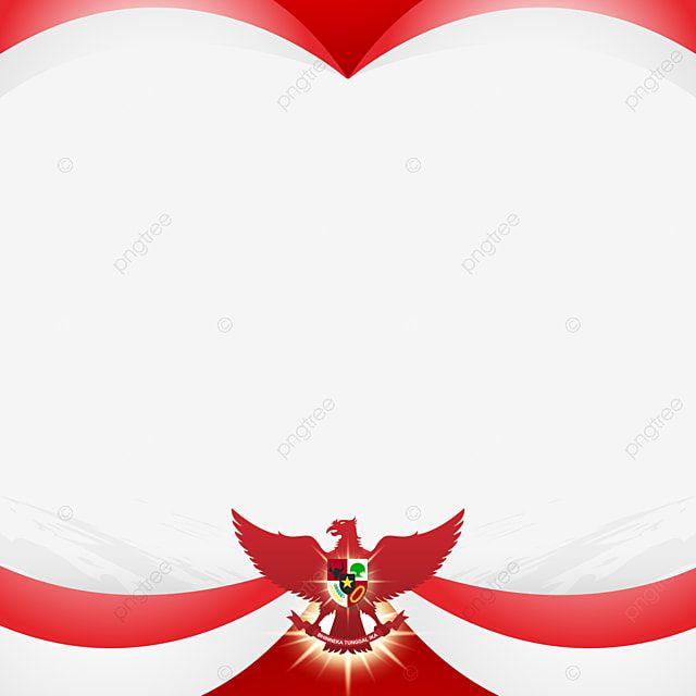 Garuda Pancasila Frame Border Design With Bendera Merah Putih Border Pancasila Garuda Png And Vector With Transparent Background For Free Download In 2021 Frame Border Design Old Paper Background Vector Art