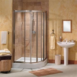 "Check out the Maax 137540 Contoura 40"" Neo-Round Shower Door priced at $602.00 at Homeclick.com."