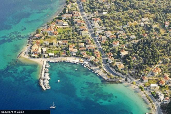 Flotilla starting in Nikiana<East coast of Lefkada island