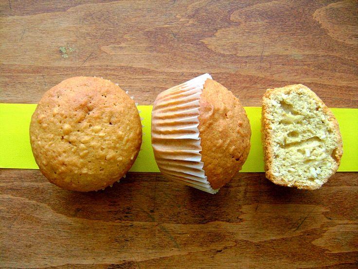 Żytnie muffiny z kokosem